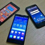 nowoczesne smartfony